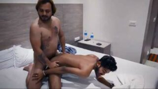 Gay blue film scene of hot actors fucking